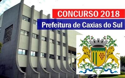Concurso da Prefeitura de Caxias do Sul RS tem 15 vagas, com Salários ATÉ de R$ 7 mil, para profissionais com curso superior.