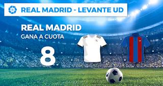 Paston Megacuota Real Madrid vs Levante 20 octubre