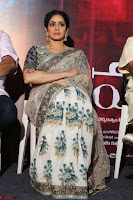 Sri Devi in designer saree stunning beauty at the launch of MOM movie Trailer~  Exclusive 086.JPG
