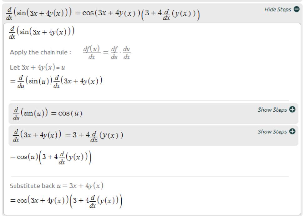 Advanced Math Solutions – Derivative     - Symbolab Blog