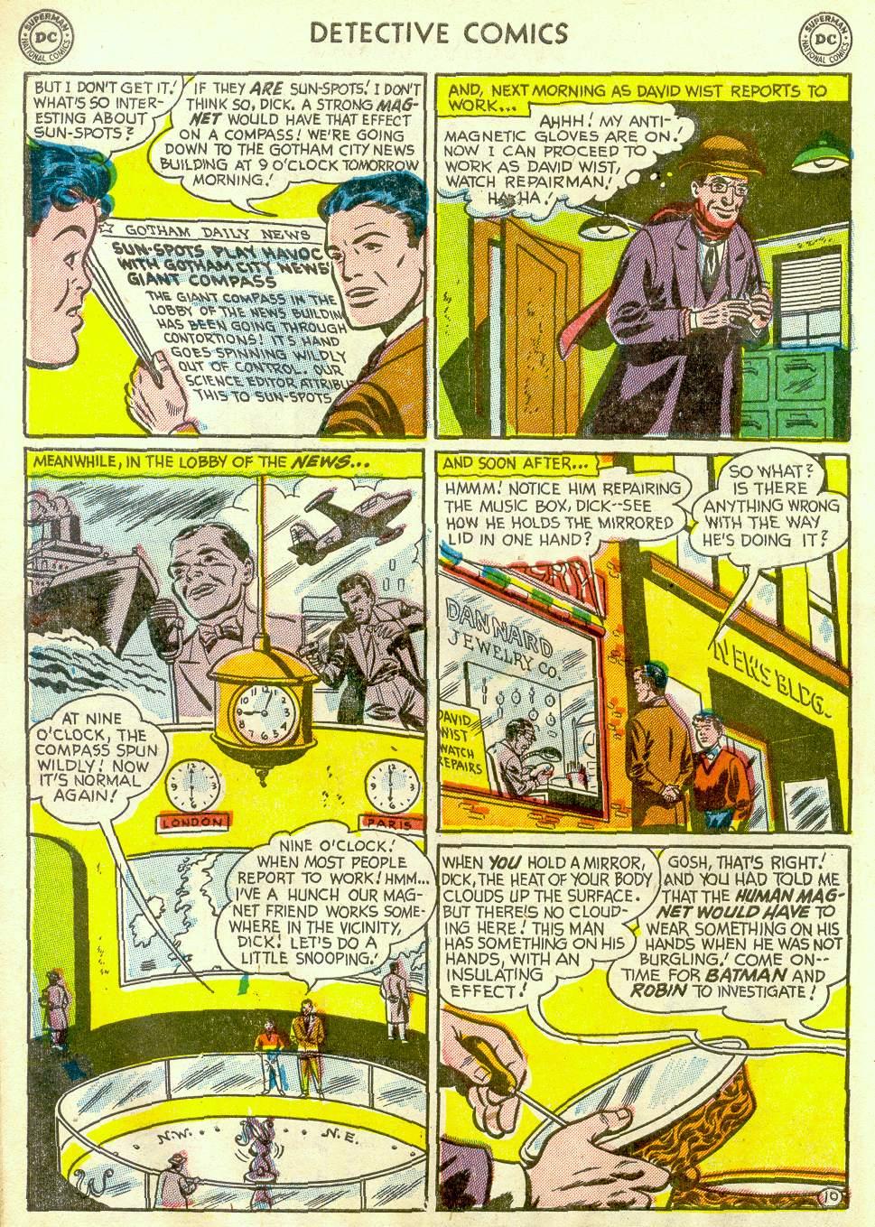 Read online Detective Comics (1937) comic -  Issue #181 - 12