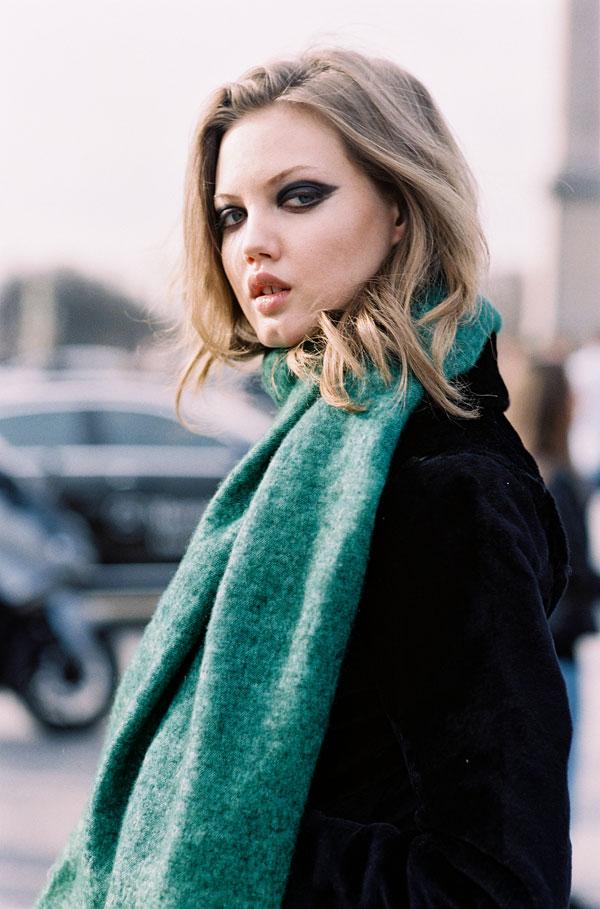 c2a0075e4 Make-up inspiration via Dylan Xue, Lindsey Wixson and Alexandra Elizabeth,  after Elie Saab, Paris, March 2015.