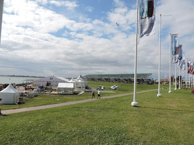 americas cup portsmouth VIP village
