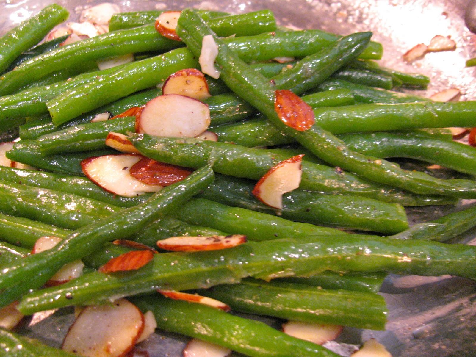 Rita S Recipes Green Beans Almondine