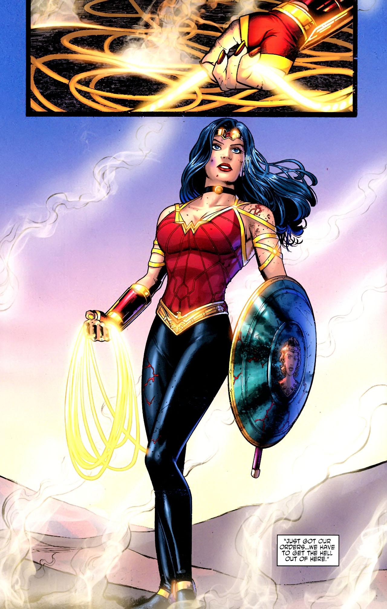 Read online Wonder Woman (2006) comic -  Issue #604 - 17