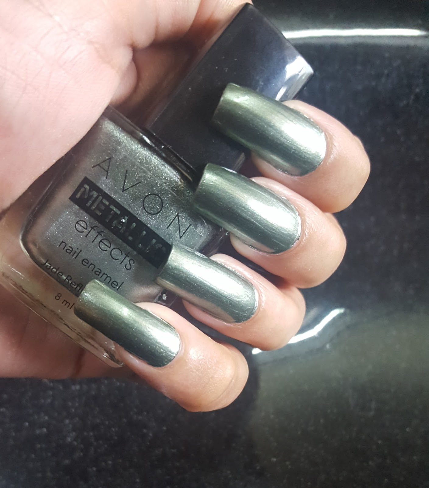 Ahoy! Nails!!: Avon Metallic Effects Nail Enamel - Jade Reflection ...