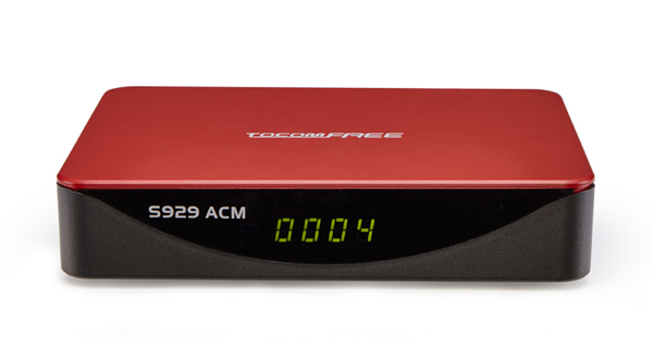 TOCOMFREE S929 ACM NOVA ATUALIZAÇÃO V1.3.6 - 23/05/2018