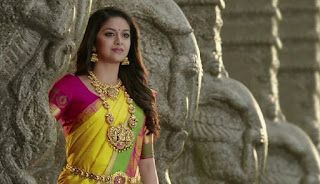 Keerthy Suresh in Saree for AVR Jewellers Ad Images 1