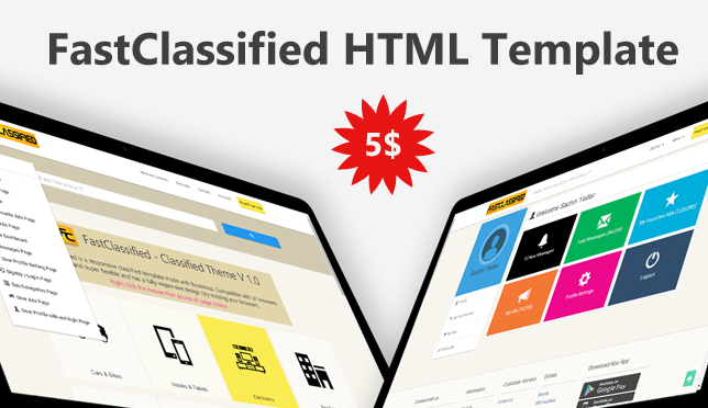 Fastclassified classified html css and javascript template the theme is extremely easy to manage and submit classified ads and you would definitely love to create your classified website with fastclassified template maxwellsz