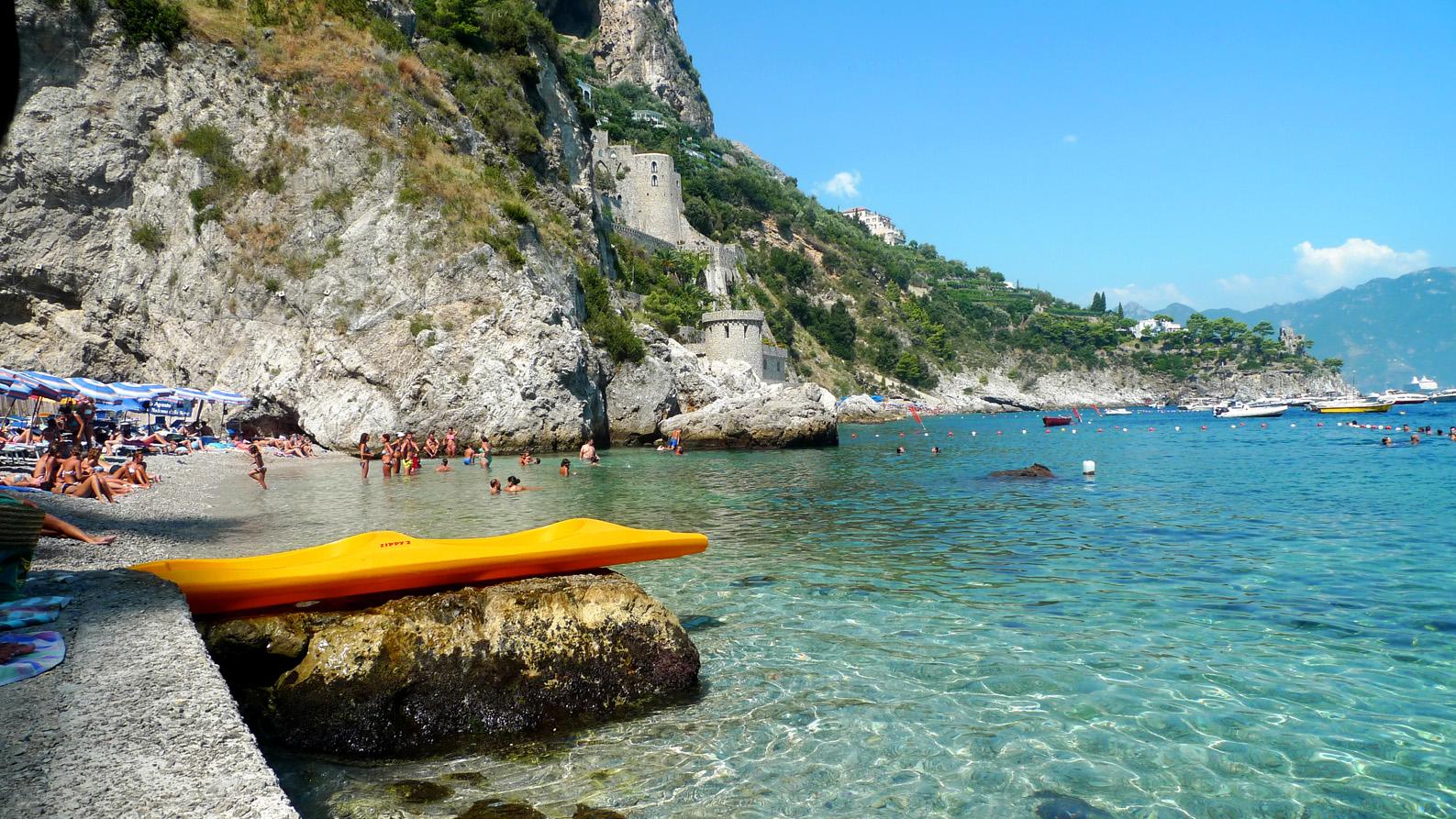 Italy Travel Exploring The Amalfi Coast Beach Italy