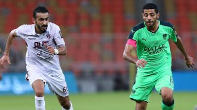 ملخص مباراة الاهلي والفيصلي في كأس ولي العهد