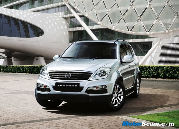 SsangYong Rexton W - Upcoming Car On Diwali