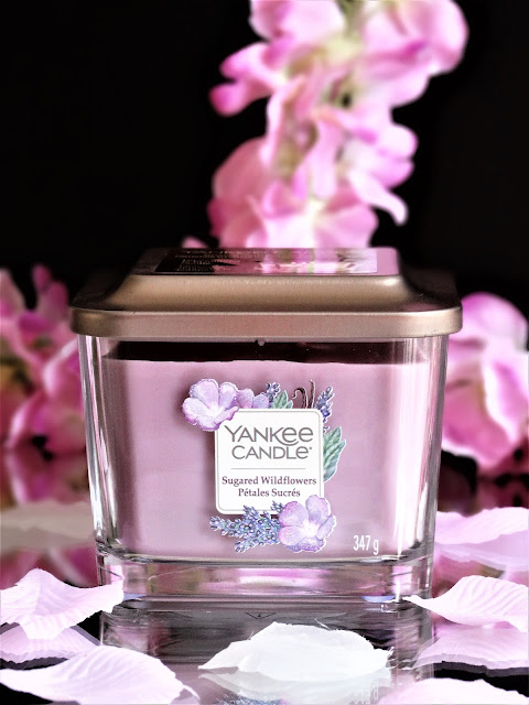 avis sugared widflowers yankee candle, avis pétales sucrés yankee candle, bougie sugared wildflowers yankee candle, avis bougie elevation yankee candle, sugared wildflowers yankee candle review