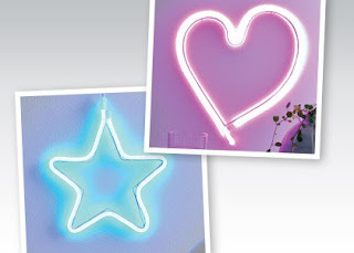 Neon LED z Biedronki