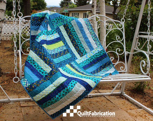 Summer Picnic quilt sans borders