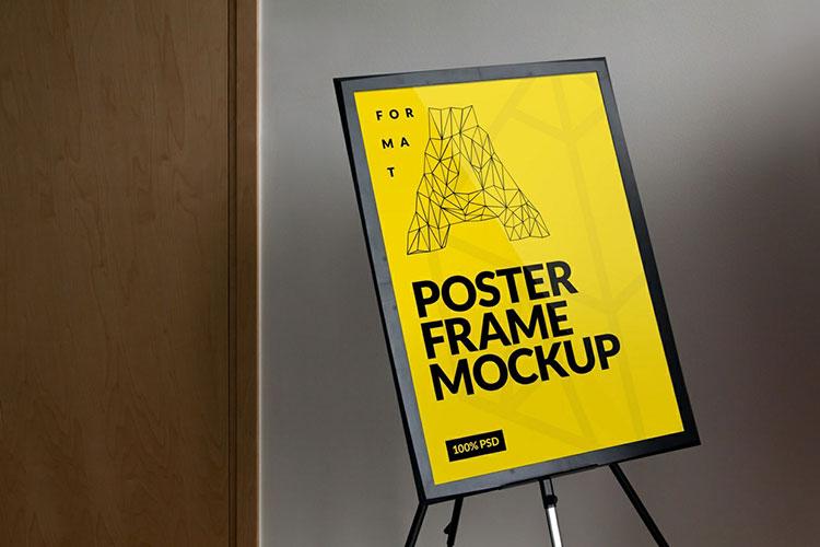 Frame Poster Mockup PSD