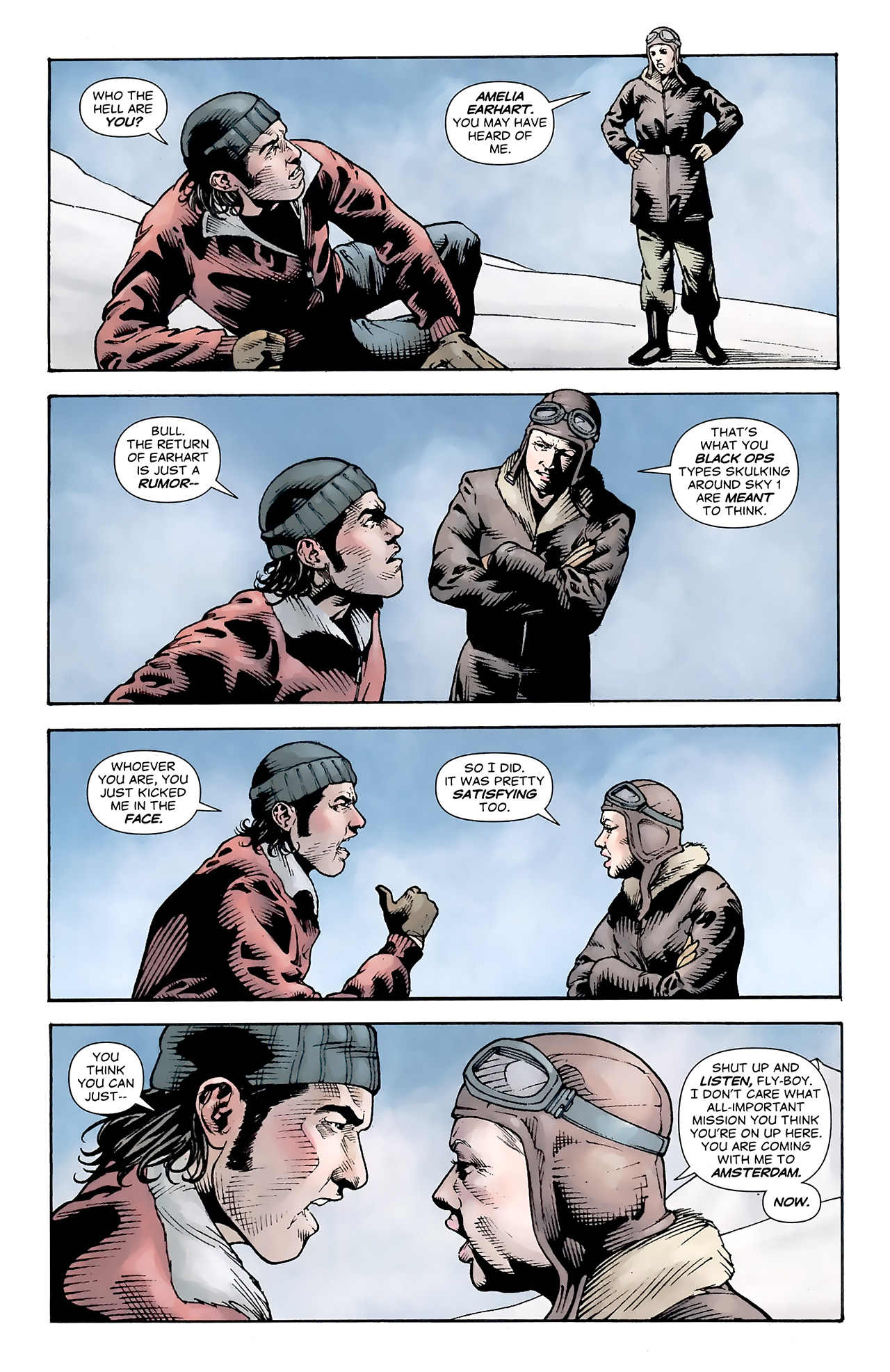 Read online Air comic -  Issue #16 - 5