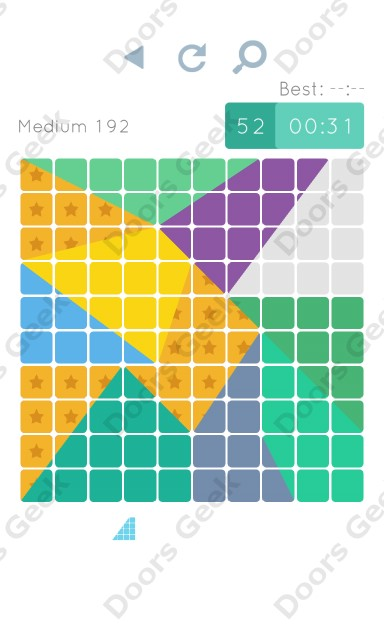 Cheats, Walkthrough for Blocks and Shapes Medium Level 192