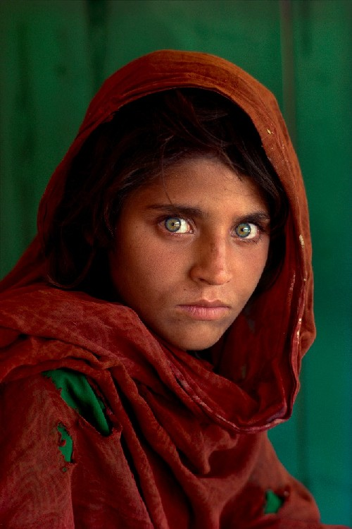 steve mccurry ragazza afgana