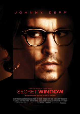 Secret Window 2004 BluRay 300Mb Hindi Dual Audio 480p Watch Online Full Movie Download bolly4u