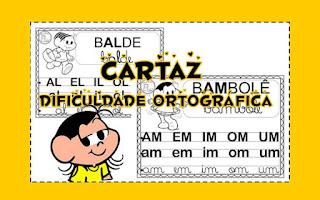 atividades de Ortografia, CARTAZES, Fichas de leitura de alfabetização, Dificuldades ortográficas,