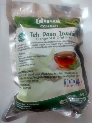 Obat Diabetes Teh Daun Insulin Aswan