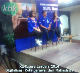 XL Future Leaders 2016 bentuk Pemimpin Masa Depan