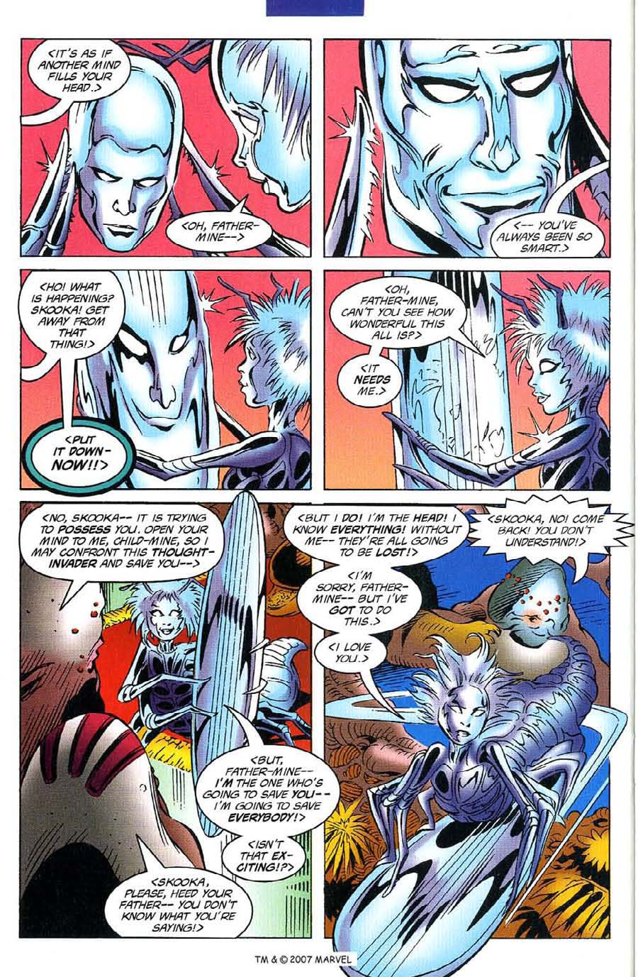 Read online Silver Surfer (1987) comic -  Issue #116 - 32