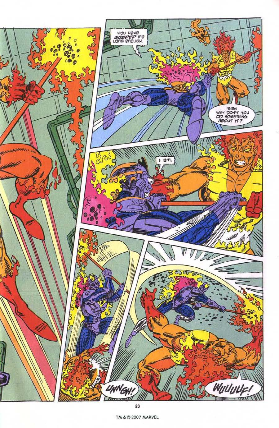 Read online Silver Surfer (1987) comic -  Issue #76 - 25