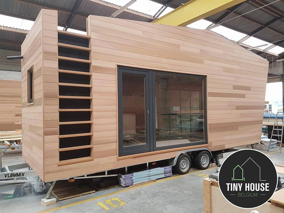 Tiny House Town Contemporary Home From Tiny House Belgium