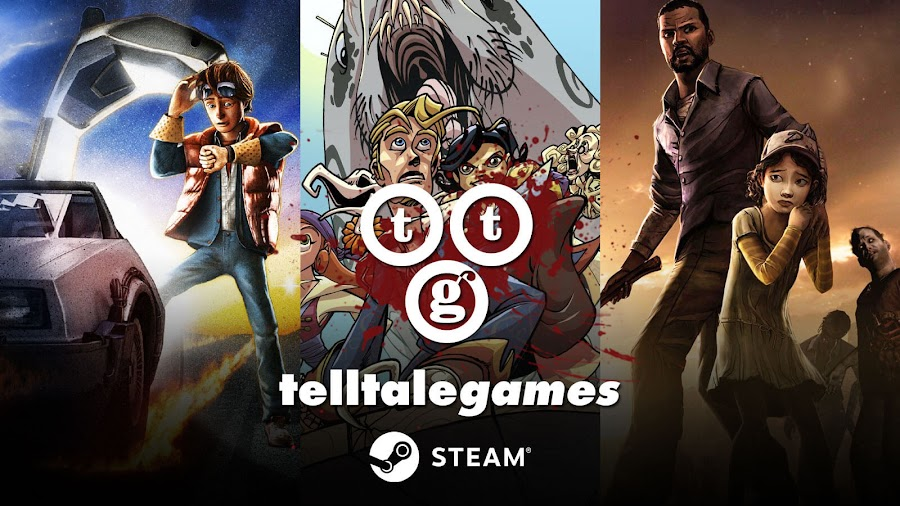 telltale games walking dead removed steam