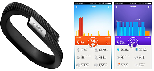 Avis Jawbone UP24