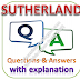 SUTHERLAND Written Test: Technical Aptitude; Questions and Answers with Explanations PDFs