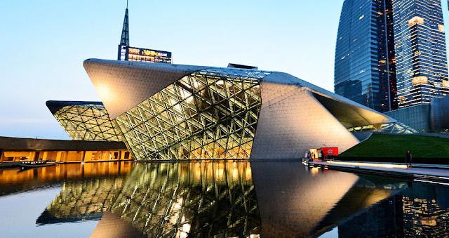 guanzhou opera binası