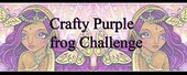 Crafty Purple Frog Challenge
