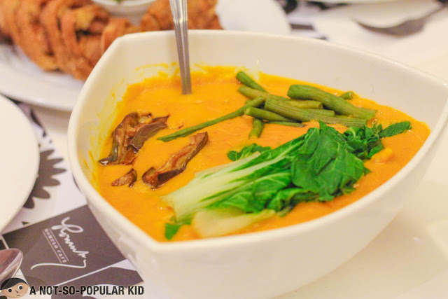 Tito Greg's Kare-Kare of Romulo Cafe