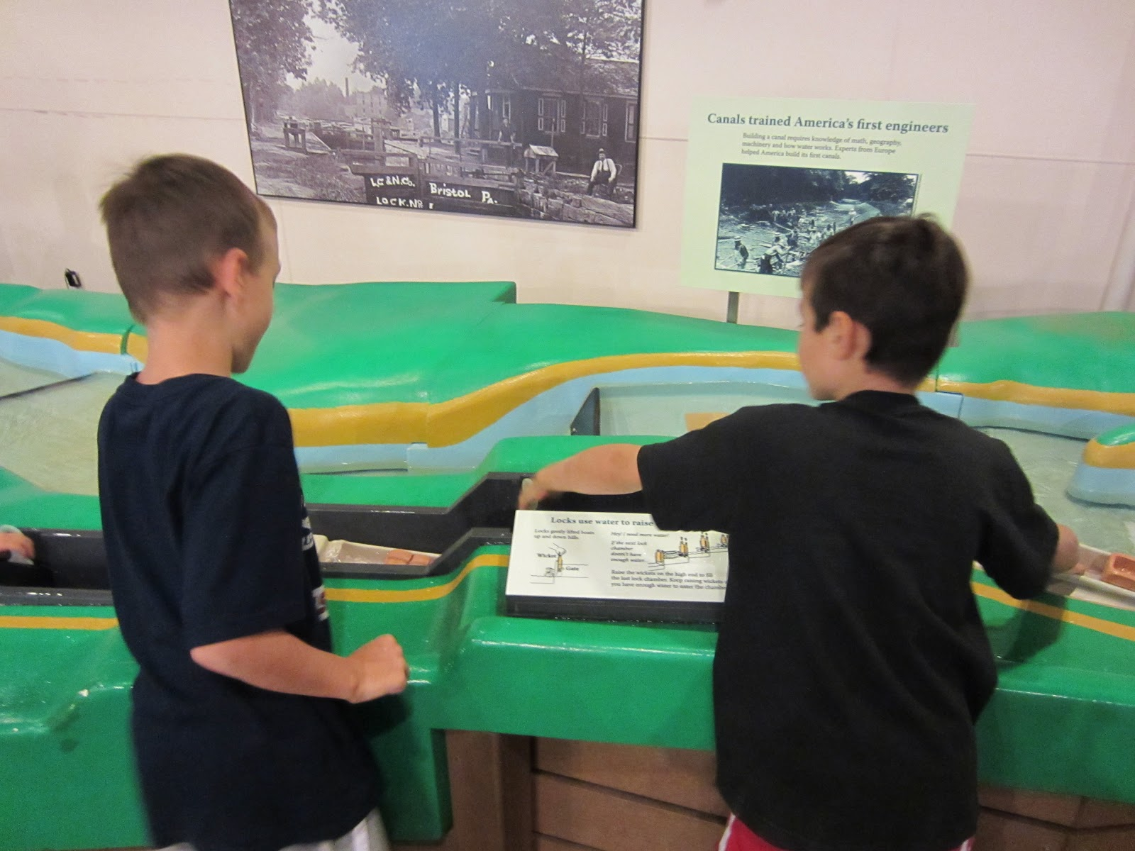 Waterworks fun and learning