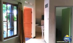 toilet dan ruangan homestay