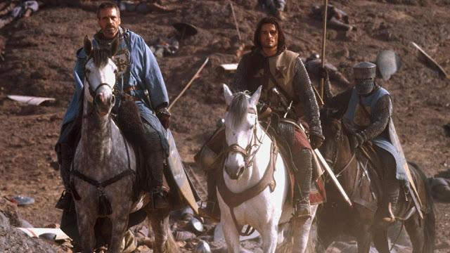Jeremy Irons y Orlando Bloom en un momento de la película