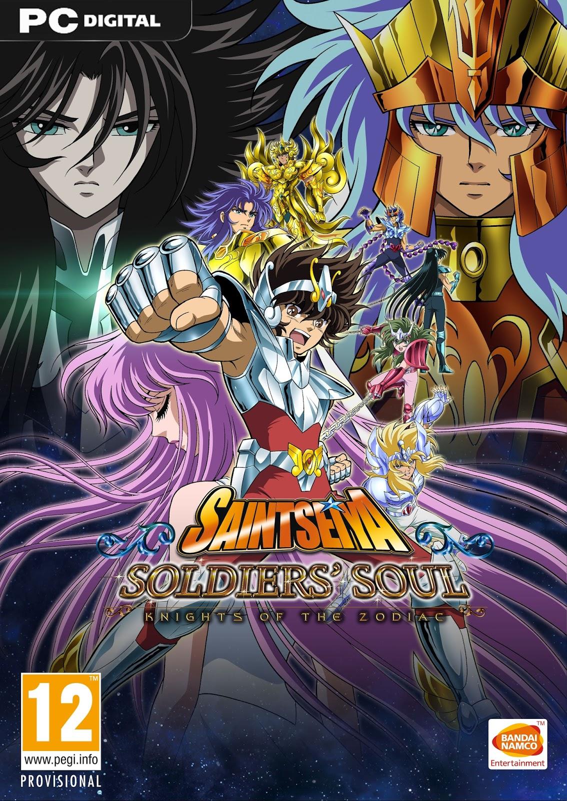 Saint Seiya Soldiers' Soul ESPAÑOL PC Full Cover Caratula