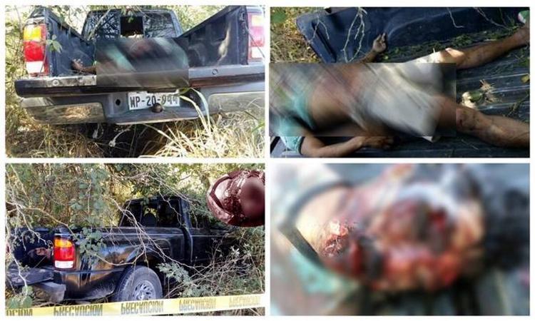 Fotos, Torturado, ejecutado y con el rostro quemado fue localizado un cuerpo en Veracruz