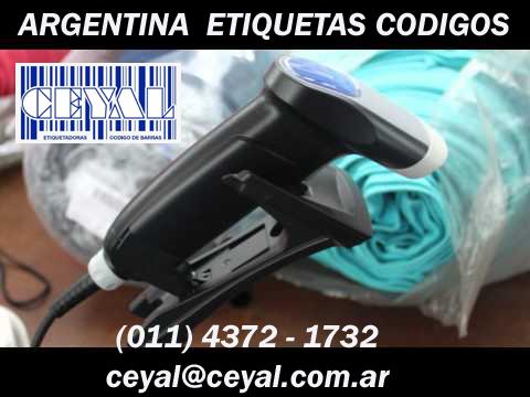 codigo de barras calzas Argentina