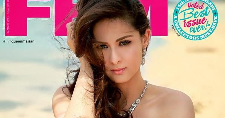 Marian Rivera Oozing with Sexiness on FHM Philippines' 14th
