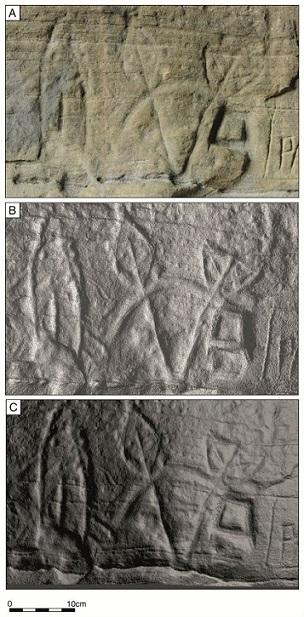 Exploration numérique de la grotte des sculpteurs en Ecosse