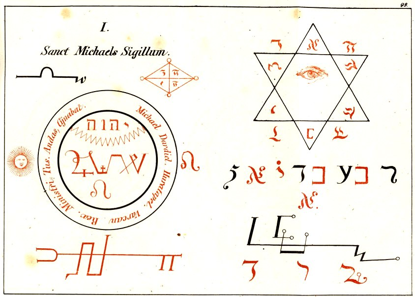 Studies on Magic: Seals of the Archangels in Faust's Magia