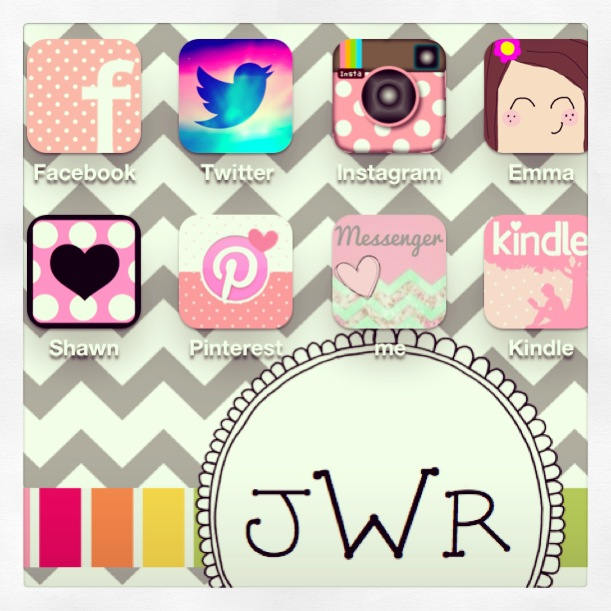 Instagram Pinterest Icons: Cute IPhone Icons! How'd I Do That?
