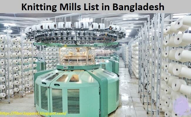 Knitting mills list in Bangladesh