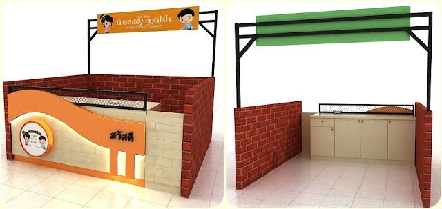 Modular Exhibition Stands Wa : Jasa pembuatan booth stand display toko