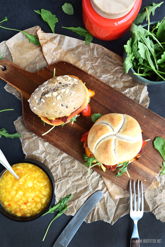 Mini-Burger Rezept zum Grillen