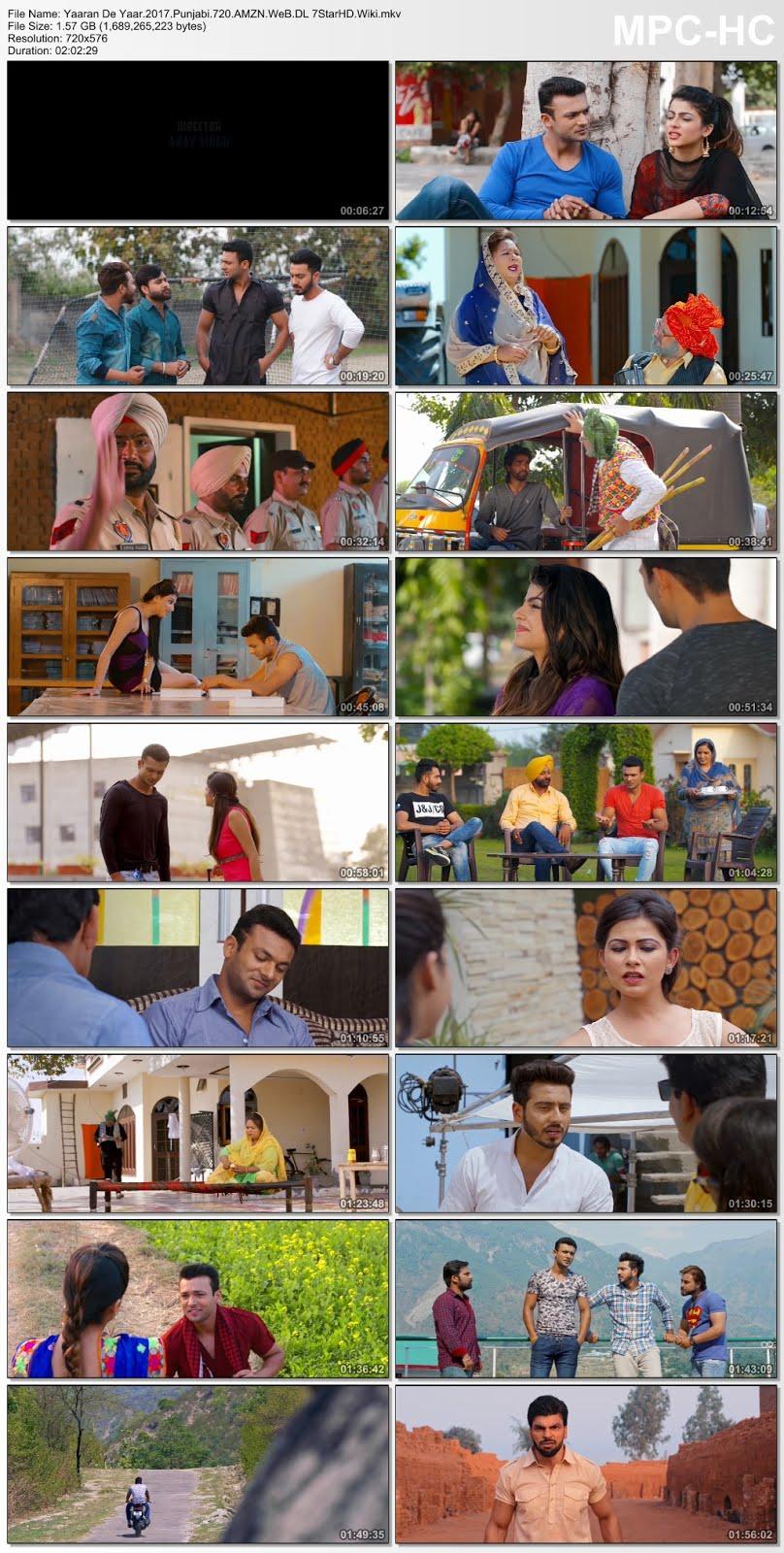 Screen Shot Of Yaaran De Yaar 2017 Full Movie Free Download HD 720P Watch Online